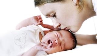Uspokajanie niemowlęcia