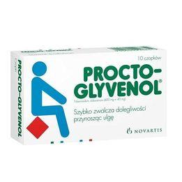 Czopki Procto-Glyvenol