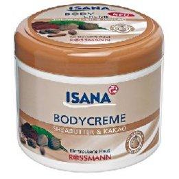 Isana, Body Creme Sheabutter & Kakao