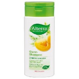 Alterra, Glanz Shampoo Aprikose & Weizen