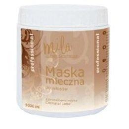 Maska mleczna do włosów z proteinami