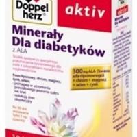 Doppelherz Aktiv - Mineraly z ALA Dla Diabetyków