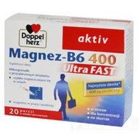 Doppelherz Aktiv - Magnez B6 Ultra FAST