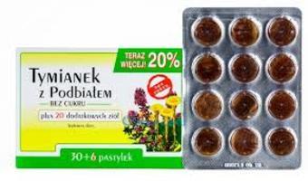 Tymianek z Podbiałem plus 20 ziół