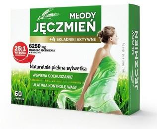 Młody Jęczmień + 4 składniki aktywne