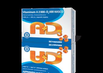Vitaminum A + D3 Hasco