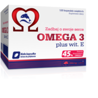 Olimp Omega 3 plus + wit. E