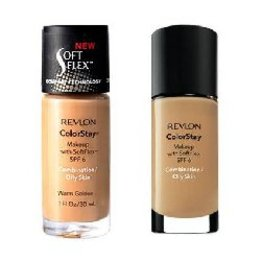 ColorStay, Makeup with SoftFlex for Combination/Oily Skin